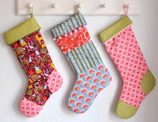 holiday stockings tutorial