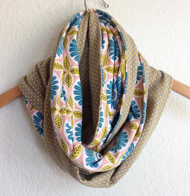 anya organic knit infinity scarf