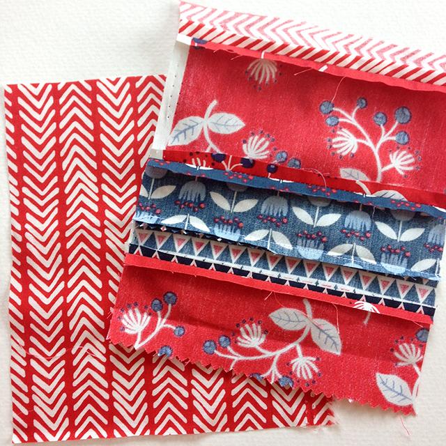 Scrappy Monaluna Fabric Ornaments
