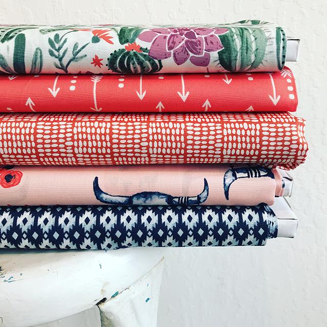 Journey Organic Fabric by Monaluna