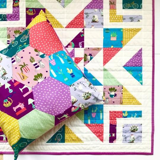 Saturday Organic Fabric Patchwork